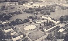 Vista aérea parcial do parque
