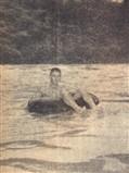 Esse não teve medo da braveza do rio, o fotógrafo também não. Aventureiros ambos ...