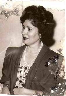 Diva Fagundes, então casada com Virgílio Lopes Fagundes, dama de destaque à época