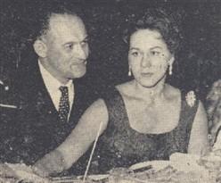 (à dir.) Com. Dedini e ministro Fontana, com o maestro Peterman