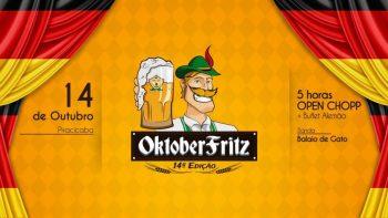 Oktober Fritz reúne diferentes tipos de chopp e buffet alemão