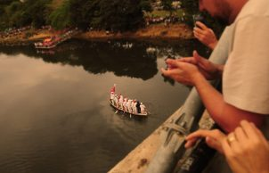 Tradicional Festa Do Divino, encontro dos Barcos - Foto Del Rodrigues