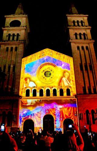 Projeto Arte e Luz na Catedral de Santo Antônio - Foto Del Rodrigues