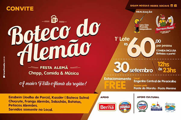 boteco do alemão