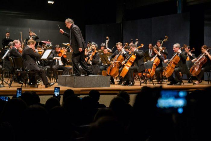 Concerto tem regência de Jamil Maluf – foto Rodrigo Alves