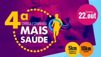 4º Corrida e Caminhada Mais Saúde acontece em outubro