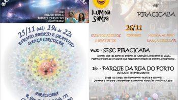 Final de semana tem Ilumina Sampa e Baile Circular em Piracicaba