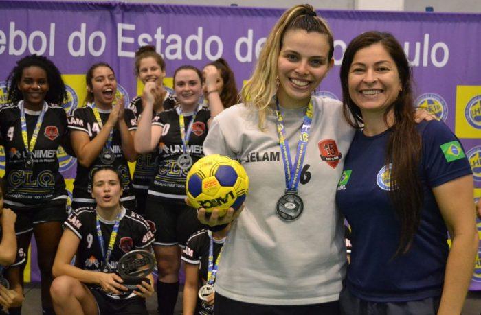 goleira Gabriela de Oliveira Barreiros do Sub-21
