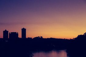 Pôr do sol privilegiado - Foto: Denis Marcorin