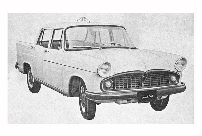 taxi antigo