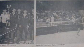 Tênis de Mesa: título sul-americano é do CCP