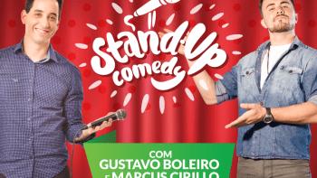 Gustavo Boleiro e Marcus Cirillo apresentam Stand Up