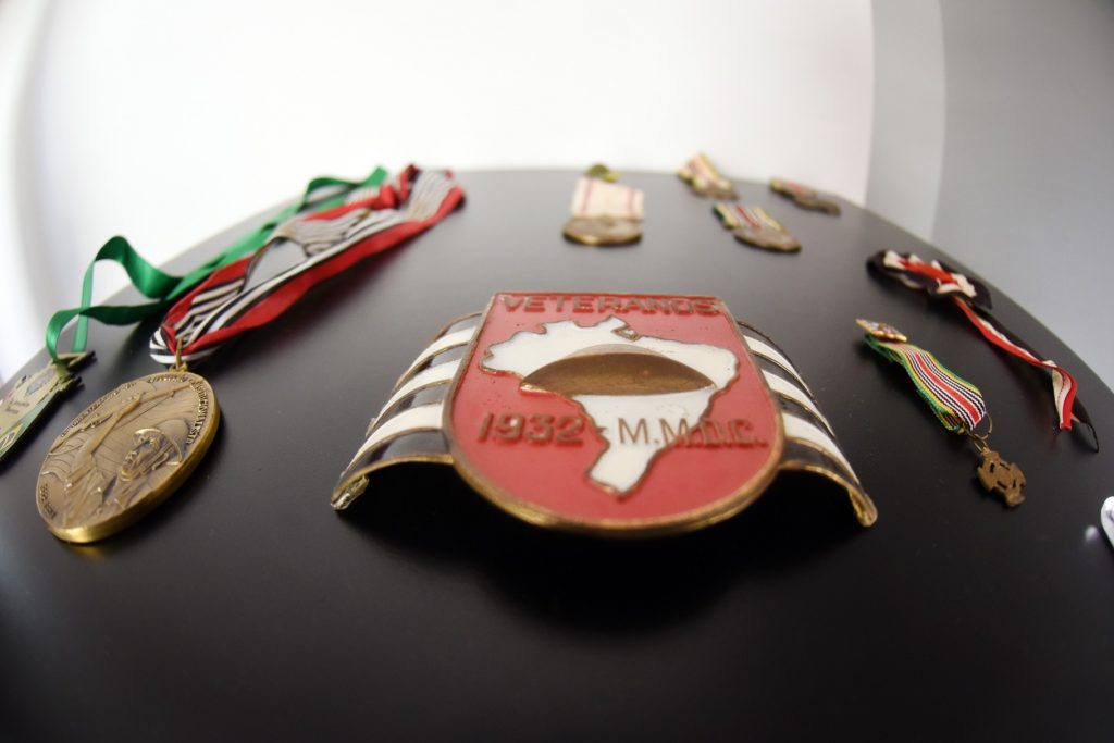Objetos da Revolução de 1932 são reunidos em exposição