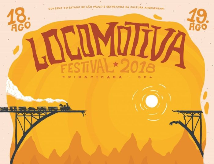 Pôster Locomotiva Festival 2018