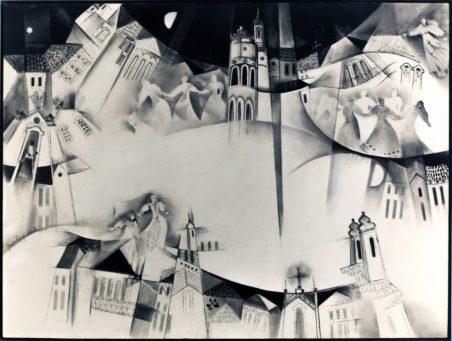 """""""Minas"""", obra de Yara Tupynambá, artista de Montes Claros - acervo de Kaili Oliveira. (foto: Quim Drummond)"""