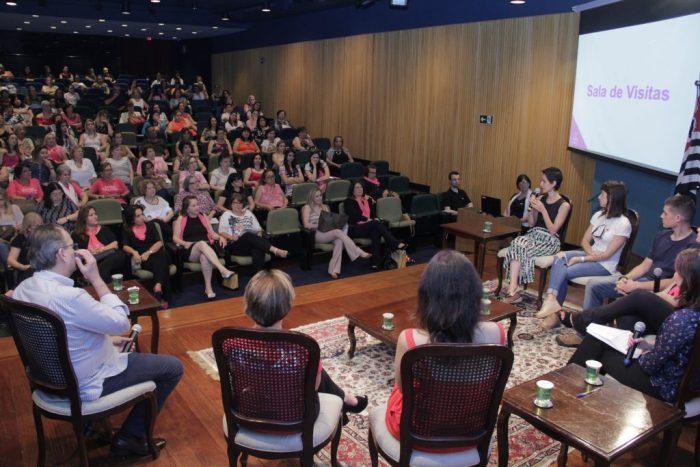 Outubro Rosa foi o tema do 95º Encontro da Mulher Empresária (crédito – Comunicação Acipi)