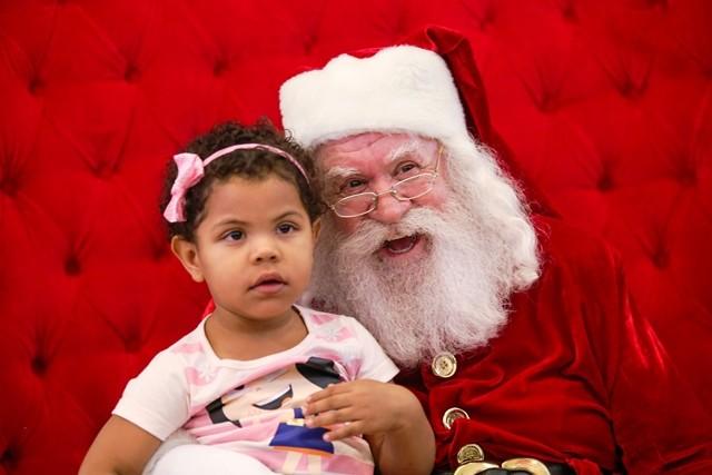 Papai Noel chega ao Shopping Piracicaba
