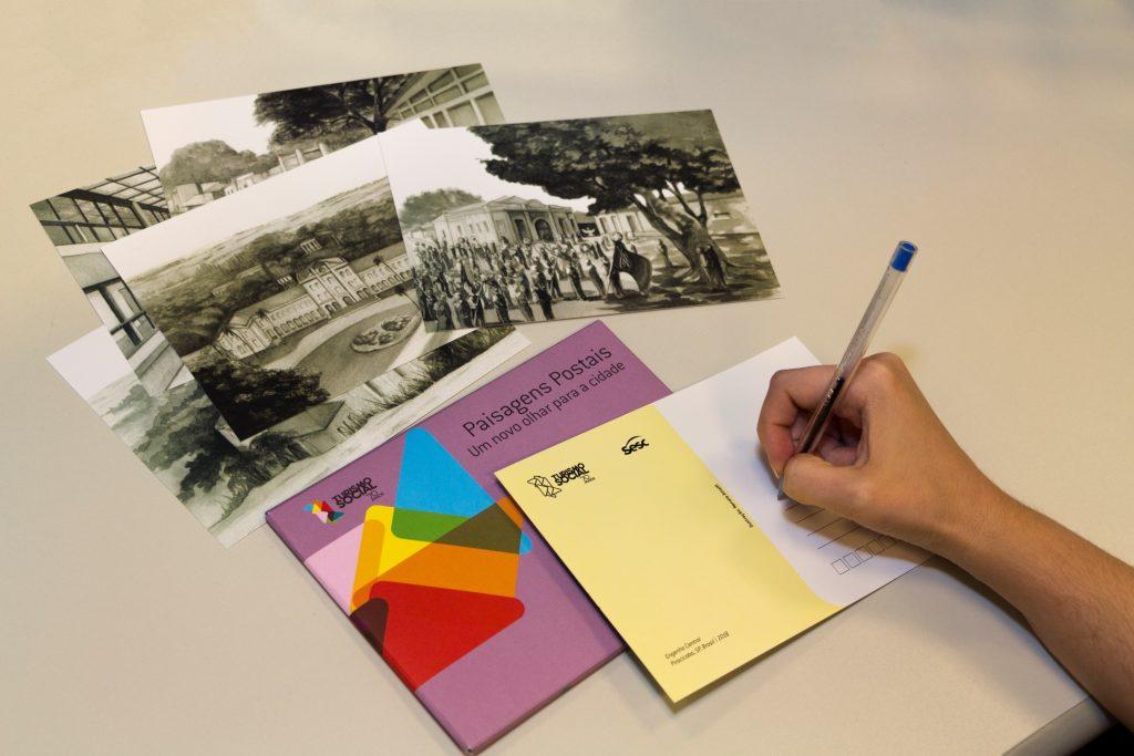 Sesc realiza oficina de escrita em cartões-postais de locais históricos de Piracicaba