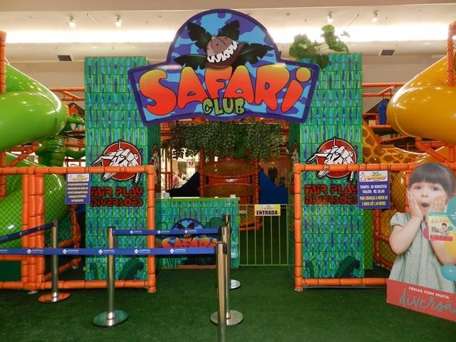 Férias no Shopping tem Safari Club para as crianças