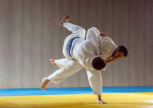Judo trainin