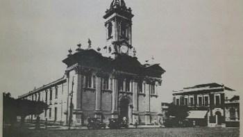 A antiga Matriz de Santo Antonio