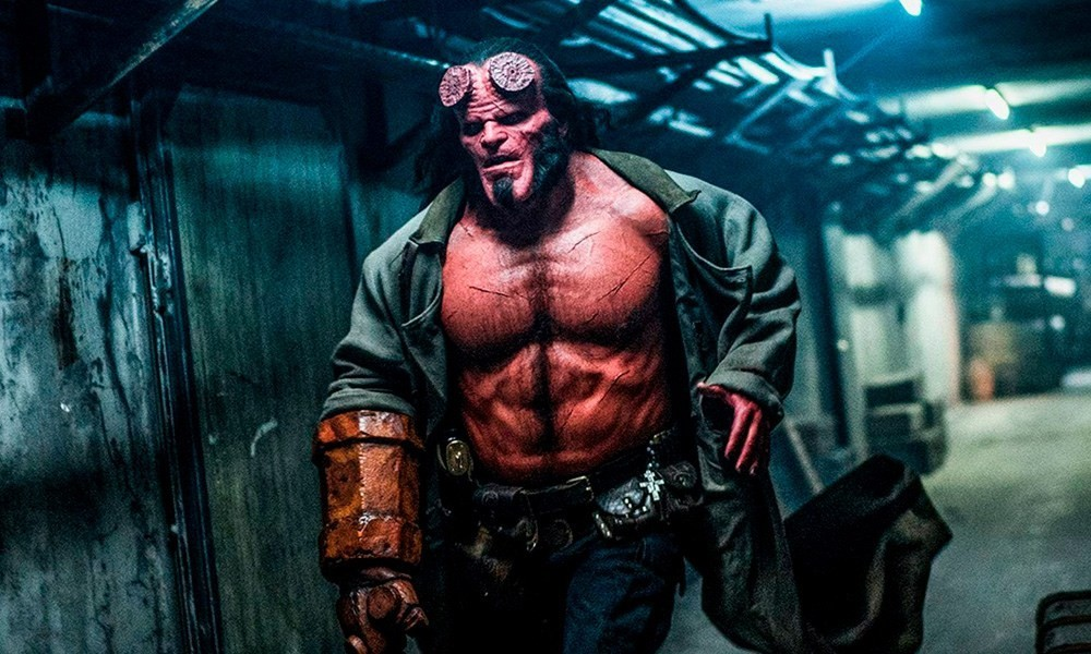 Hellboy está no Cine Shopping