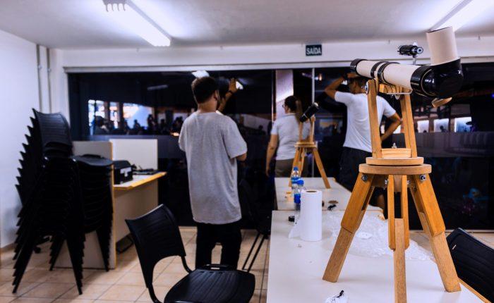 08.2019 – Tecnologias e Artes – Construcao de telescopio – 1