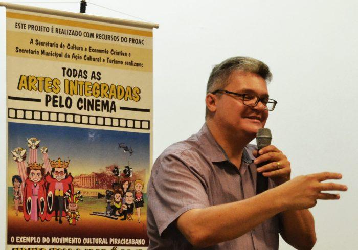 Lauro Pinotti é o diretor do filme FOTO RAFAEL BITENCOURT