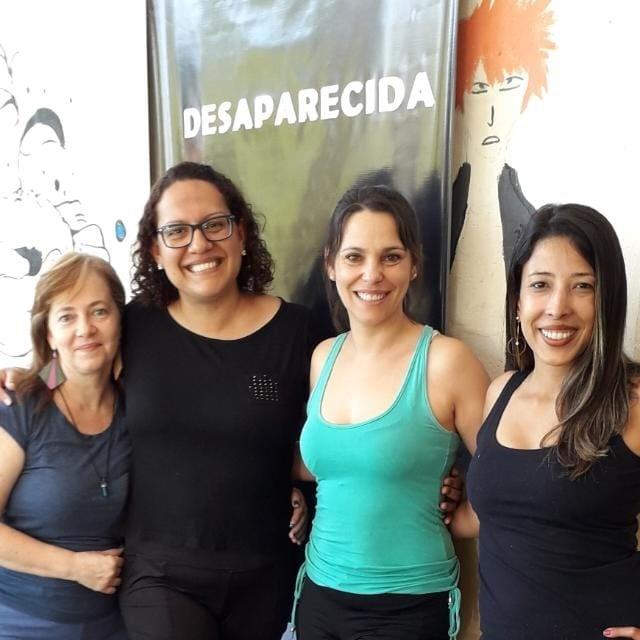 Alessandra San Martin Kelly Aguiar Daniela Cavagis e Vânia Lima DESAPARECIDAS PROAC