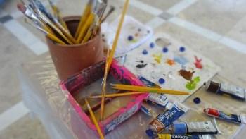 Pinacoteca Municipal oferece inscrições para aulas de pintura
