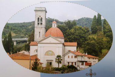 Igreja de Bozzano, na Itália.