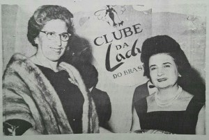 Alzira Maluf, a primeira presidente do Clube da Lady