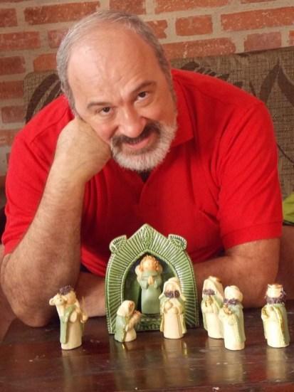O diretor Carlos ABC tem dois amores: o teatro e Piracicaba. (foto: divulgação)