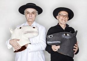 Carlos Careqa e Mário Manga. (foto: Edson Kumasaka)