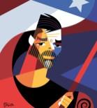 """Trabalho de Pablo Lobato (Argentina), na categoria """"Caricatura"""". (imagem: divulgação)"""