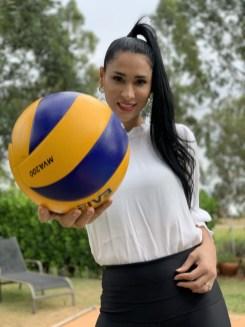 Jaqueline Carvalho, a Jaque do Volei (foto: Euthuanny Araújo)