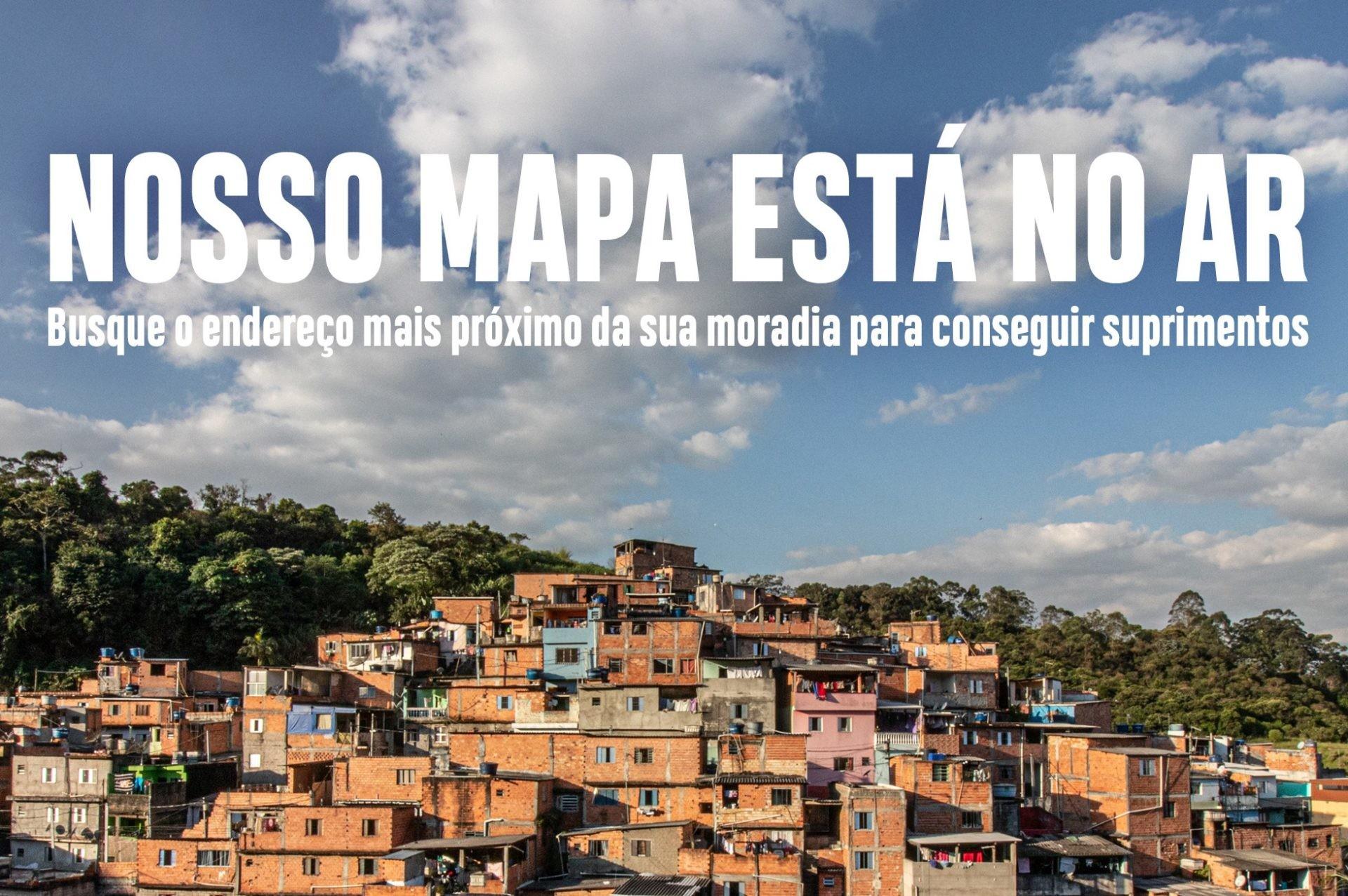 Aplicativo otimiza apoio à famílias da periferia de São Paulo