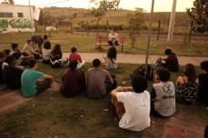 """Lugar Diverso"" reúne jovens poetas. (foto: Gabriel Albertini)"