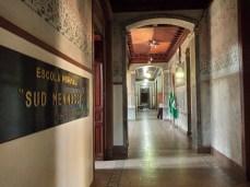 Corredores da EE Sud Mennucci. (foto: comunicação Prefeitura)
