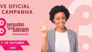 Outubro Rosa: live com artistas marca lançamento de campanha da FEMAMA