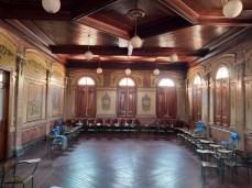 Salão Nobre da escola. (foto: comunicação Prefeitura)