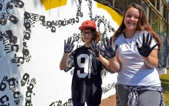Beatriz Ribeiro e Rafaela Pires deixaram sua marca. (foto: Rafael Bitencourt)