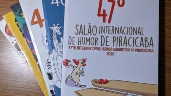Catálogo do 47º Salão Internacional de Humor de Piracicaba está disponível