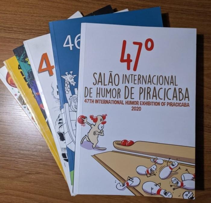 Catálogo do 47 Salão Internacional de Humor