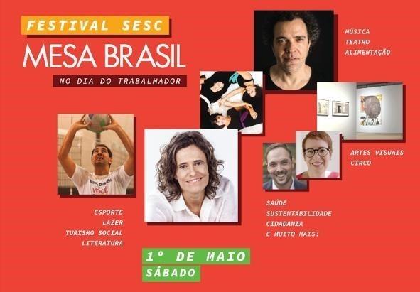 Festival SESC Mesa Brasil: na programação, solidariedade