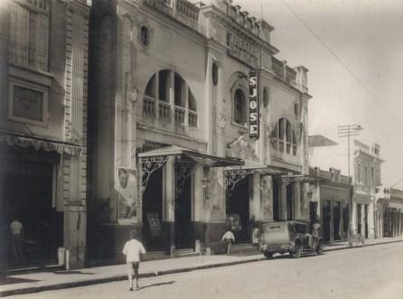 Teatro São José, fundado em 1927 pelo Coronel José Barbosa Ferraz. (foto: Acervo IHGP - Instituto Histórico e Geográfico de Piracicaba)