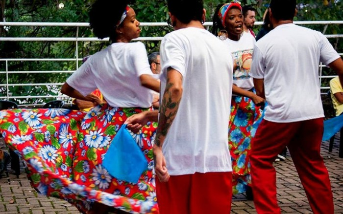 Samba de Lenço participa do Fórum – Foto Tomás Leme Simoni