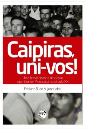 O livro foi lançado em agosto passado, pela editora CRV.