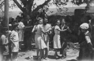 Excursão ao Barranco dos Pisões - 1950