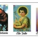 Antônio, João, Pedro: uma festança só